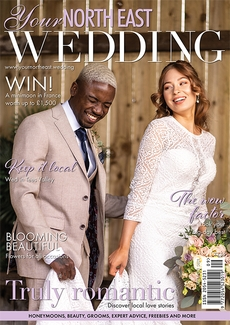 Cover of Your North East Wedding, September/October 2021 issue