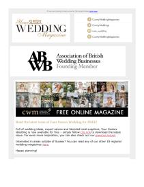 Your Sussex Wedding magazine - May 2021 newsletter
