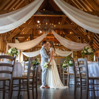 Have a barnstorming date at Sussex wedding venue, Southend Barns