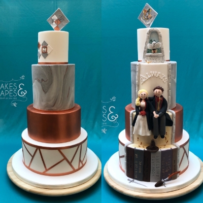 New cake at the Mercedes-Benz World Signature Wedding Show