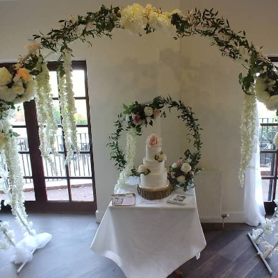 Butterflies and Bows has launched a new range of arches and hoops for 2020 and 2021