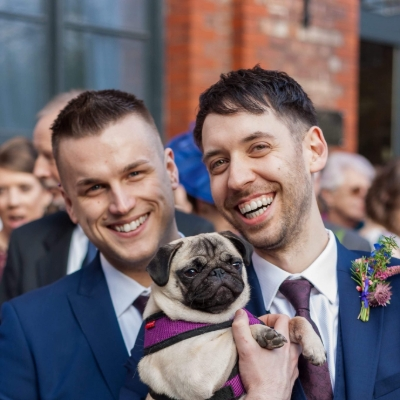 Involving pets in your wedding day