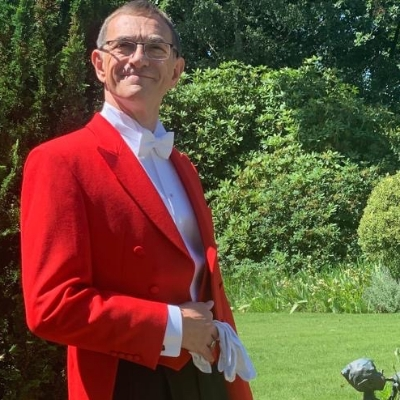 Leave nothing to chance with Sussex-based toastmaster Andy Wright