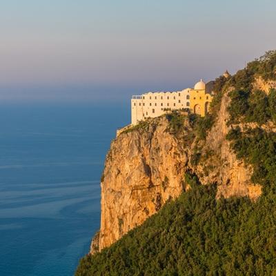 Consider Monastero Santa Rosa on Italy's Amalfi Coast for a short-haul honeymoon