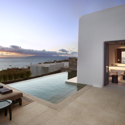 Check out Kalesma in Mykonos for a short-haul honeymoon