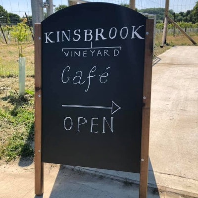 Kinsbrook Vineyard opens for coffee, cake and vineyard tours