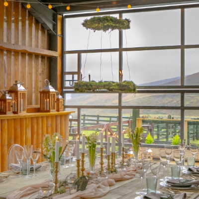 A fully sustainable retreat for pre-wedding escapism
