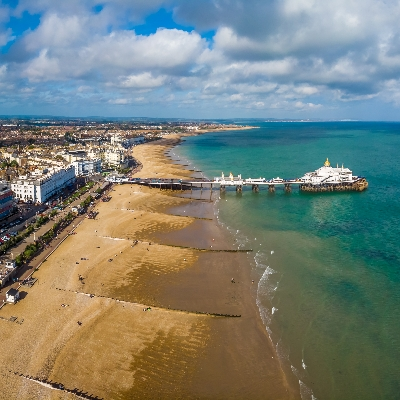 Eastbourne revealed as the sunniest spot to book during June