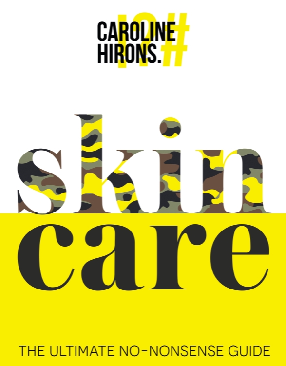 Front cover book of Skincare