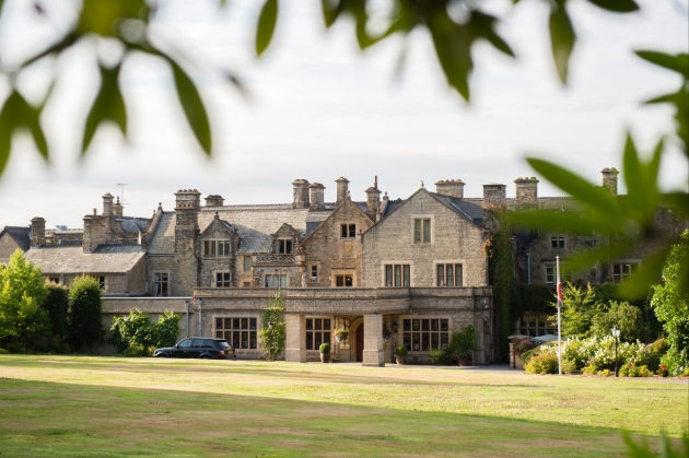 South Lodge, an Exclusive Hotel & Spa, Horsham, view from the grounds looking on to the stately home