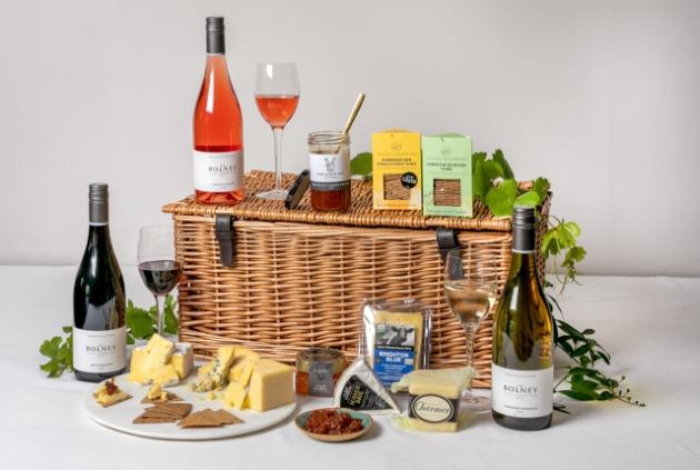 Bolney Wine Estate Sussex Cheese & Wine Hamper