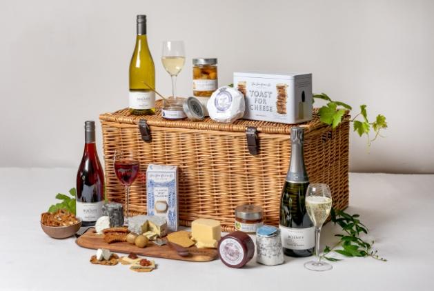 Bolney Wine Estate partners in wine hamper