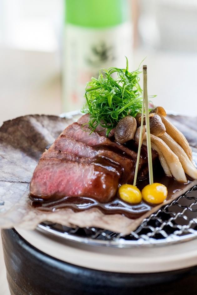 food on a plate