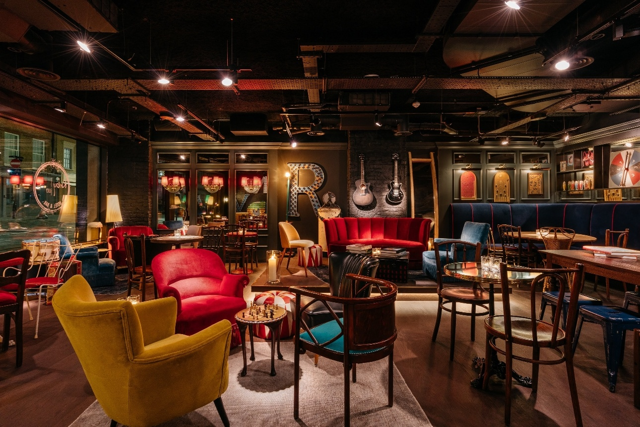 quirky eclectic restaurant