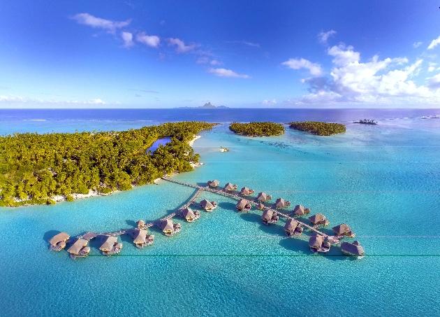 water villas in ocean