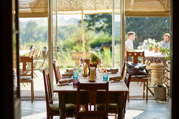 New restaurant and hotel The Pig in the South Downs