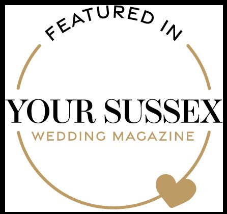 Featured in Your Sussex Wedding magazine