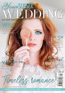 Issue 84 of Your Sussex Wedding magazine