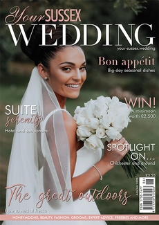 Issue 85 of Your Sussex Wedding magazine