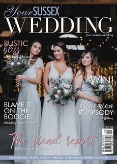 Issue 87 of Your Sussex Wedding magazine